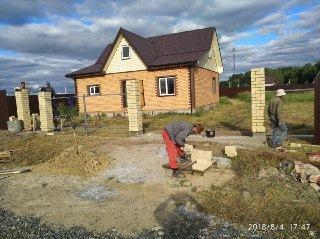 Кирпичный забор Зеленодольск цена от 13683 руб.