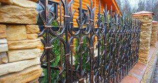 Кованые заборы Зеленодольск цена от 3347 руб.