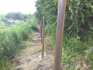 Забор из профнастила Зеленодольск - цены с установкой под ключ от 1158 руб.