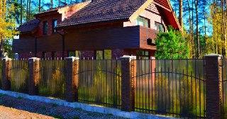 Забор для дома Зеленодольск цена от 1579 руб.
