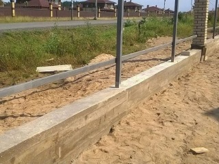 Забор на ленточном фундаменте Зеленодольск цена от 7368 руб.