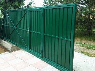 Ворота под ключ Зеленодольск цена 8210 руб.