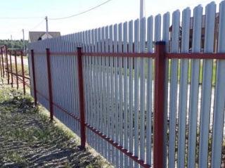 Забор на винтовых сваях Зеленодольск цена от 2316 руб.